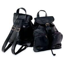 Maxam® Italian Mosaic™ Design Genuine Lambskin Leather Backpack/Purse