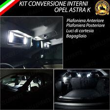 KIT LED INTERNI OPEL ASTRA K CONVERSIONE INTERNA A LED COMPLETA CANBUS 6000K