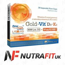 OLIMP GOLD VIT D3 K2 VITAMIN BLOOD CLOTTING BONES TEETH SUPPORT