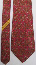 SALVATORE FERRAGAMO  Authentique cravate 100% soie TBEG  vintage