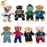 8-10 inch/25cm TEDDY CLOTHES - TUXEDO,SUPERBEAR,KARATE,PJ,SUPERBEAR,DINO HOODIE