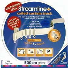 Bendable Curtain Track for Straight and Bay Windows 5m
