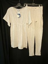 NEW SLEEP BY MIMI Maternity Night Gown & Lounge Pants Small NWT