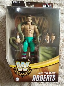WWE Elite Legends Series 8: Jake the Snake Roberts - Fast Shipping