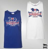 Mens Lonsdale Cotton Scoop Neck Top LDN RCR Vest Sizes from S to XXL