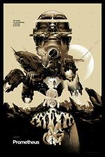 Prometheus Poster - Variant - Mondo - Martin Ansin - Limited Edition of 200