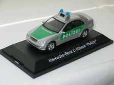 Mercedes Benz C-klasse Polizei - Schüco 04574 Police model in 1/43