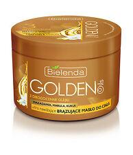 (6,00€/100ml)  BIELENDA GOLDEN OILS Selbstbräuner Körperbutter Marulaöl 200 ml