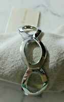 Bold Elements Silver Link Bracelet New With Tags MSRP 18.00