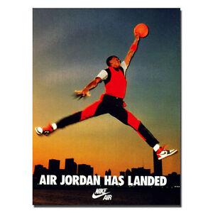 Michael Jordan Shoe MJ 23 Chicago Bulls MVP Silk Poster 13x18 24x32inch J087