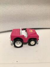 Vintage Tonka Pink Jeep 1970's- Plastic and metal.