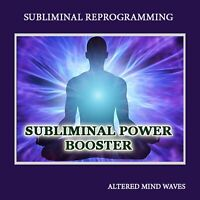 Subliminal Power Booster - Get Faster Results Subliminal Hypnosis CD
