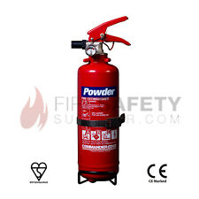NEW 1KG DRY POWDER FIRE EXTINGUISHER. BOAT,CAR,OFFICE,TAXI,HOME - PORTABLE. UK
