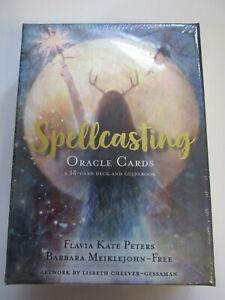 SPELLCASTING ORACLE BY F.K. PETERS & B. MEIKLEJOHN-FREE, NEW & SEALED Hay house