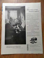 1948 Hammond Organ Ad  This is Music as You've Dreamed it Could be