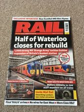 Rail Magazine August 16-29 2017 - Issue 833 - Half Of Waterloo Closes Forrebuild