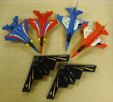 CASE OF 24 TOOTIESTOY : PLASTIC MILITARY PLANES - MADE IN USA    #ZTT-5035