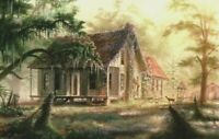 Gracefully Old Homeplace ll  by RC Davis 19 1/2 x 29
