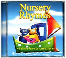 Nursery Rhymes CD   40 Nursery Rhymes for Children.  Kids Rhymes *NEW & WRAPPED*