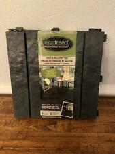 Multy Home EcoTrend Recycled Rubber Deck and Balcony Tile 12