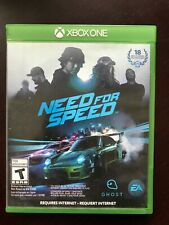 Need for Speed: Deluxe Edition (Microsoft Xbox One, 2015) Video Game Used