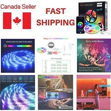 Led Strip Lights 32.8ft 10m Flexible Multi Color RGB 5050/3528 600leds Tape 12V