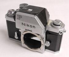 Nikon F/FTN Chrome Body - Bruiser - Meter Needs Work