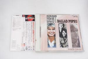 BEST BALLAD POPS[1] GOLDEN HITS COLLECTION JAPAN CD OBI A14154