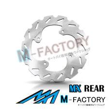 Rear Brake Disc MX Rotor x1 Fit KAWASAKI KX 85 00-16 01 02 03 04 05 06 07 08