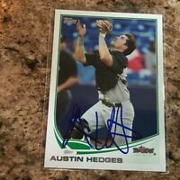 Austin Hedges Signed 2013 Topps Pro Debut Rc Auto San Diego Padres