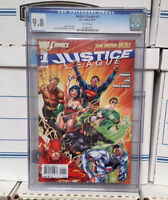 DC New 52 Justice League #1 CGC Graded 9.8 1st Printing Jim Lee Cover L@@K !
