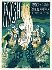 Phish Msg New Years Run Poster 2018 / 2019 Kathleen Neeley Print Nyc
