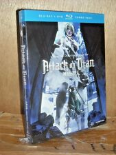 Attack on Titan: Part 2 (Blu-ray/DVD, 2014, 4-Disc Set)