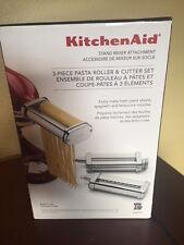 KitchenAid Stand Mixer 3pc Pasta Roller & Cutter Set KSMPRA NEW IN BOX