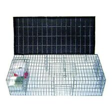 New listing Bird B Gone Pigeon Trap W/Shade, Food & Water Containers