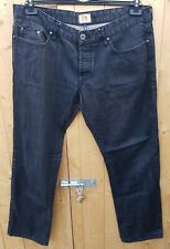 Boss Orange 25 Black Rigid Jeans W38 L32 Straight Leg