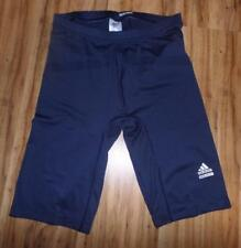 NEW adidas Men's Techfit Base Training Shorts Navy Blue Size 2XLT