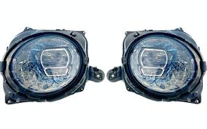2X NEW ORI FULL LED HEADLIGHTS SWAROVSKI BENTLEY CONTINENTAL GT GTC 3SD941006L