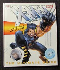 2003 X-MEN Updated Edition The Ultimate Guide by Peter Sanderson HC VF- 7.5