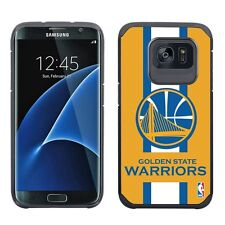 Samsung Galaxy S7 EDGE ONLY Golden State Warriors Multi Layer Case NBA Stripe