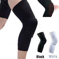 1x Basketball Knee Pads Sleeve Honeycomb Brace Protective Gear Elastic Kneepad