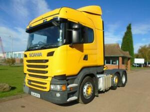 2014 (14) Scania R450 Highliner 6x2 Twin Steer Tractor Unit, Euro 6