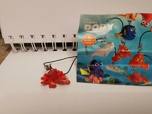 HANK from Finding Dory 3d danglers, keychains, charms