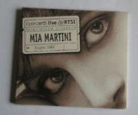 # MIA MARTINI - I CONCERTI LIVE RTSI  -   CD NUOVO SIGILLATO