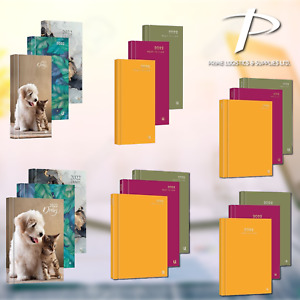 2022 A4, A5 Day to Page, Week to view Appointment Diary Hardback Casebound Diary