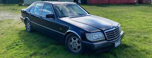 MERCEDES BENZ 1992 W140 S420 V8