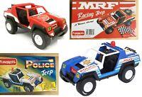 Funskool Hasbro G I Joe Military Vamp MRF Racing & Police Jeep set of 2 pcs MISB