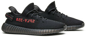 Adidas Yeezy Boost 350 V2 Bred Black/Red CP9652 Sizes 4-13 AUTHENTIC