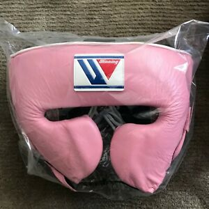 Winning FG-2900 Boxing Head Gear - Pink