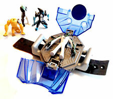 Cartoon Network Ben 10 Portable Wrist Wearable Creation Chamber Toy + figures